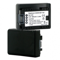 Canon Vixia HFR30 3.6V 890mAh Digital Camera Battery, BLI-432