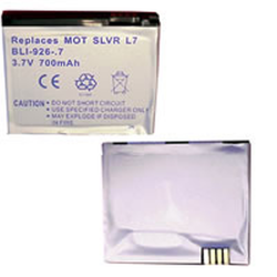 Motorola RAZR V3X Li-Ion 700mAh Cell Phone Battery, BLI-926-.7