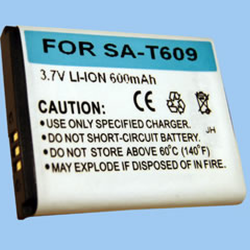 Samsung Axle 3.7v Li-Ion 600mAh Cell Phone Battery, BLI-998-.6