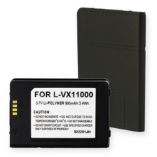 LG VX11000 3.7V 900mAh Li-Poly Cell Phone Battery, BLP-1164-09