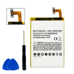 HTC ONE M8 3.8V Li-Poly 2600mAh Cell Phone Battery, BLP-1334-206