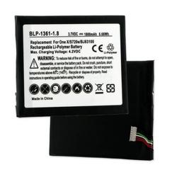 HTC ONE X S720E 3.7V 1800mAh Li-Poly Cell Phone Battery, BLP-1361-108