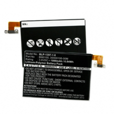 HTC ONE MINI LTE 601N 3.7V 1800mAh Li-Poly Cell Phone Battery, BLP-1397-1.8
