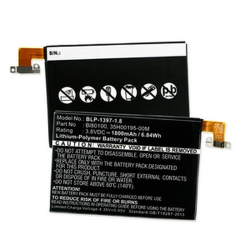 HTC ONE MINI LTE 601N 3.7V 1800mAh Li-Poly Cell Phone Battery, BLP-1397-1.8