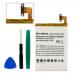 HTC BO68100 3.8V 3200mAh Li-Poly Cell Phone Battery, BLP-1400-302