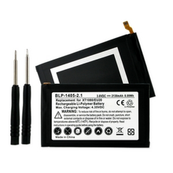 Motorola DROID ULTRA 3.8 volt 2130mAh Li-Poly Cell Phone Battery, BLP-1405-201