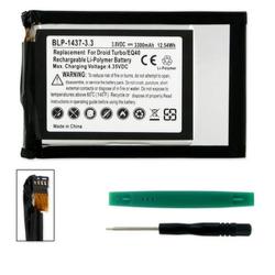 MOTOROLA DROID TURBO LTE 3.8V 3300mAh Li-Poly Cell Phone Battery, BLP-1437-303