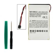MOTOROLA MOTO E 3.8V 2240mAh Li-Poly Cell Phone Battery, BLP-1438-203