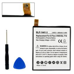 LG BL-T16 3.8V 3000mAh LI-Poly Cell Phone Battery, BLP-1441-3