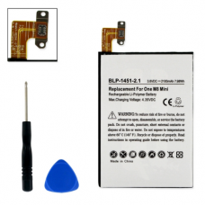 HTC ONE M8 MINI 3.8V 2100mAh Li-Poly Cell Phone Battery, BLP-1451-201