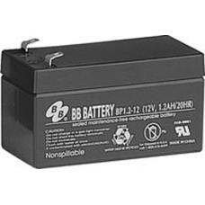 BB Battery, BP1.2-12T1, 12V 1.2Ah Sealed Lead Acid Battery
