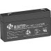 BB Battery, BP1.2-6T1, 6V 1.2Ah Sealed Lead Acid Battery