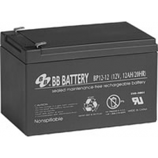 BB Battery, BP12-12T1, 12V 12Ah Sealed Lead Acid Battery