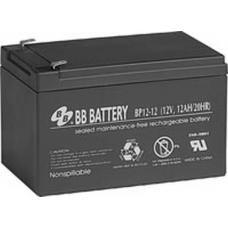 BP12-12 BB Battery 12V 12Ah Sealed Lead Acid Battery, T2