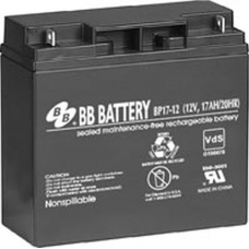 BB Battery, BP17-12B1, 12v 17Ah Sealed Lead Acid Battery RBC7