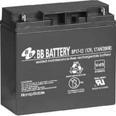 BB Battery, BP17-12B1, 12v 17Ah Sealed Lead Acid Battery RBC7