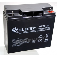 BB Battery, BP18-12B1, 12V 18Ah Sealed Lead Acid Battery