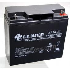 BB Battery, BP18-12B1, 12V 18Ah Sealed Lead Acid Battery