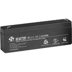 BB Battery, BP2.3-12T1, 12V 2.3Ah Sealed Lead Acid Battery