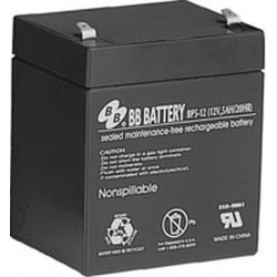 BB Battery, BP5-12T1, 12V 5Ah Sealed Lead Acid Battery