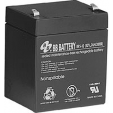 BB Battery, BP5-12T2, 12V 5Ah Sealed Lead Acid Battery