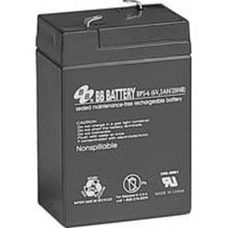 BB Battery, BP5-6T1, 6V 5Ah Sealed Lead Acid Battery