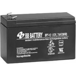 BB Battery, BP7-12T1, 12V 7Ah Sealed Lead Acid Battery, RBC2