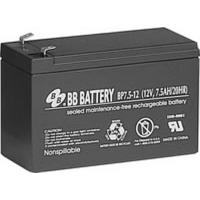 BP7.5-12 BB Battery 12V 7.5Ah Sealed Lead Acid Battery, T1