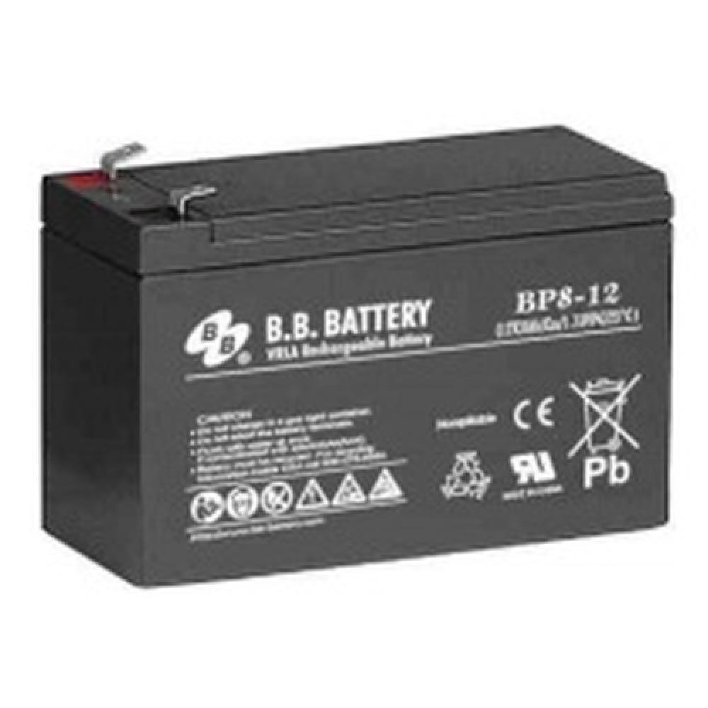 Zbattery Com Bp8 12 Bb Battery 12v 8ah T2 Sealed Lead Acid Battery
