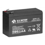 BB Battery, BP8-12T2, 12V 8Ah Sealed Lead Acid Battery