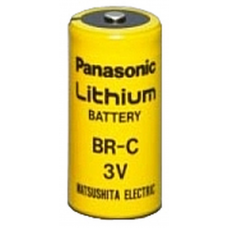 Panasonic BR-C 3V 5000mah  C Cell Lithium Battery, BR-CSSP