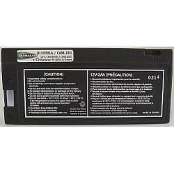 CAM-350 (WP1250) 12 Volt 2aH, Sealed Lead Acid Battery, CAM-350