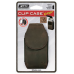 Clip Case Cargo Leather Cell Phone Holster Med Espresso CCCM-03-19