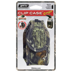 Nite Ize Clip Case Cargo Cell Phone Holster Med Mossy Oak CCCM-03-22