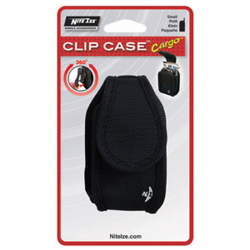 Nite Ize Clip Case Cargo Cell Phone Holster Small Black CCCS-03-01