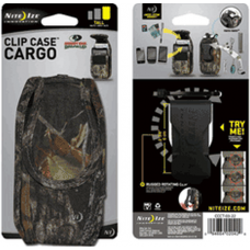 Nite Ize Cell Phone Cargo Holster, Tall Mossy Oak CCCT-03-22