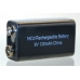 Rechargeable 8.4V 120mah 9V Form NiCad Battery, CD-9V120
