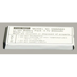 Motorola SNN5683 3.7V 850mAh Li-Ion PDA (or MP3 Player) Battery