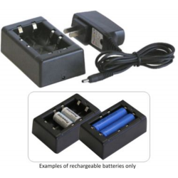 18650 (no PCB) / CR123A 3.7v Lithium-Ion Smart Charger, CH-L004