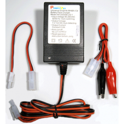 Smart Charger for 7.2V-12V NiMH/NiCd Battery Packs, CHUN-123