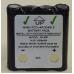 4.8V 600mAh NiMH Replacement Two-Way Radio Battery, COM-FABP