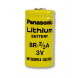 Panasonic Lithium 2/3A 3 Volt 1200 Mah Battery, Single Cell BR-2/3A, COMP-5