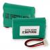 Empire AT&T 27910 3.6V 700mAh NiMH Cordless Phone Battery, CPH-464D