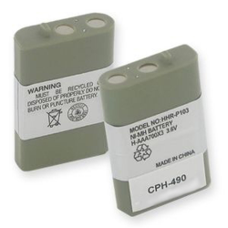 Empire Panasonic HHR-P103 replacement 3.6V 700mAh NiMH Cordless Phone Battery, CPH-490