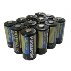 Panasonic 123A 3V Lithium Digital Camera Battery, 12 pack