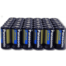Panasonic CR123A 3V Lithium Digital Camera Battery, 36 pack, CR123APA-36