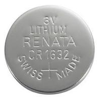 CR1632 Renata 3v Lithium Coin Cell 1/card