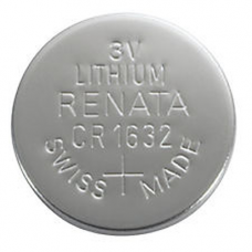 CR1632 Renata 3v Lithium Coin Cell 1/card