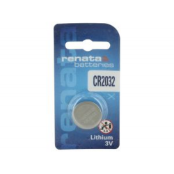 Renata Coin Cell 3v Lithium Battery 1/card CR2032CU