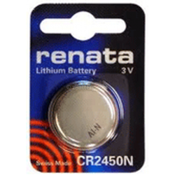 Renata CR2450NSC 3V Lithium Coin Cell Battery